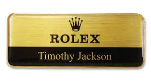 gold name tag metal name badges tags no setup fees name badges international