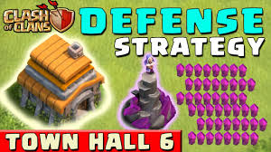 coc map layout th6 clash of clans defense strategy townhall level 6 coc th6
