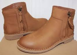 uggs womens boots on ebay ugg s rea chestnut nubuck leather boots with box ebay