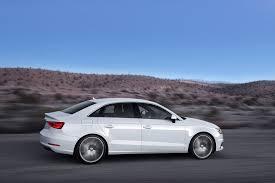 white audi sedan 2014 glacier white audi a3 sedan side view eurocar