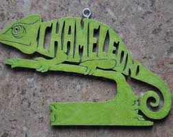lizard ornament etsy