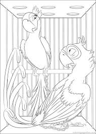 22 rio u0026 rio2 movies coloring pages images