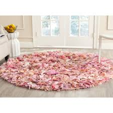 Plush Area Rug by Shag Rug Pink Roselawnlutheran