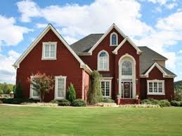 red brick house color schemes best brick house colors ideas on