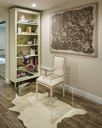 Clear Lucite Desk Desk Ideas Home Office Transitional With Clear Desk Leather Area Rugs