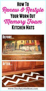 Mohawk Memory Foam Kitchen Rug Decorating Mesmerizing Fabulous Blue Rectangle Rug And Brown