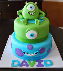 19 best monsters inc cake images on pinterest fondant cakes