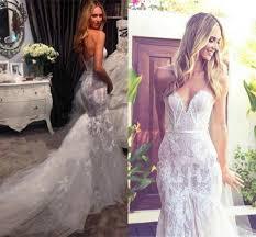 Custom Wedding Dress 2015 New Mermaid Wedding Dresses With Lace Applique Tulle Sheath