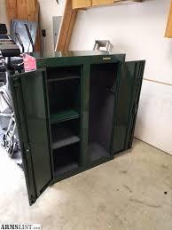 stack on double door gun cabinet armslist for sale stack on double door gun cabinet