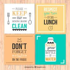 affiches cuisine règles cuisine affiches télécharger des vecteurs gratuitement