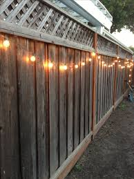 Solar Fence Lighting by Beautiful Design Outdoor Fence Lighting Pleasing 1000 Ideas About