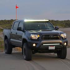 2005 2015 toyota tacoma 50 led light bar with mounting bracket