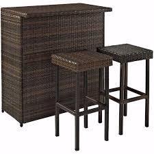 Patio Furniture Bistro Set - outdoor bar patio furniture bistro set chair coffee table 3 piece