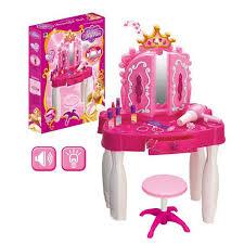 Little Girls Vanity Playset Table Ravishing Girls Dressing Table Crowdbuild For Toddler Vanity