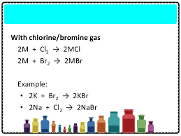 Bromine Periodic Table Chapter 4 The Periodic Table