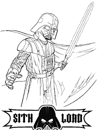 100 colouring pages darth vader star wars lego coloring