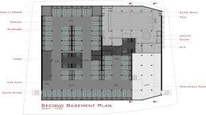 basement plan gallery of yademan tower architecture atelier 5