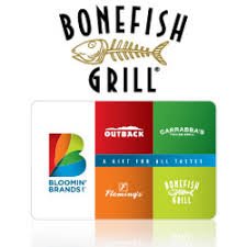 bonefish gift card buy bonefish grill gift cards at giftcertificates