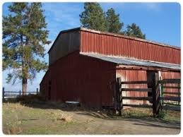 The Barn Lake Alfred Spokane Historic Preservation Office Spokane County Heritage Barns