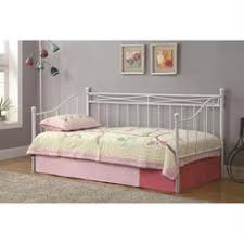 White Bookcase Daybed Coaster Brookstone Daisy Bookcase Daybed W Trundle Bed