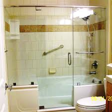 Bathroom With Bath And Shower Walk In Shower Tub Combo Bath Pinterest Tubs Regarding Bathtub