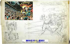 Dc Comics World Map by Big Glee The Albert Bryan Bigley Archives