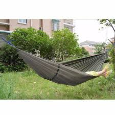 outdoor double person hanging portable parachute hammock bed tent