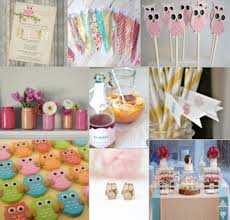 owl themed baby shower decorations baby girl owl themed baby shower home decorating interior