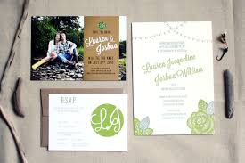 summer wedding invitations josh s pacific northwest summer wedding invitations