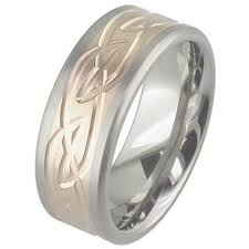titanium celtic wedding bands gold titanium celtic wedding ring titanium rings suay