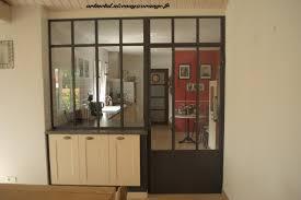 verre de cuisine separation de cuisine en verre modern aatl