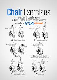 Chair Resistance Band Exercises Gym Free Workouts Live Well Nhs Choices