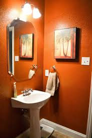extraordinary orange bathroom decor best orangerooms images onroom