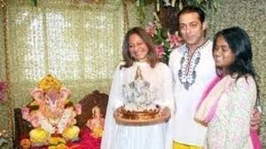 decoration themes for ganesh festival at home check out these 10 pictures of salman khan s ganesh chaturthi