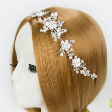 aliexpress buy bridal rhinestone hair vine tiara