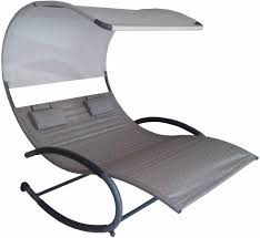 Outdoor Lounge Chair With Canopy Outdoor Patio Chaise Daybed Techethe Com