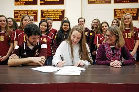 College National Letter Of Intent Alessandra Arace Signs A National Letter Of Intent To Play Soccer