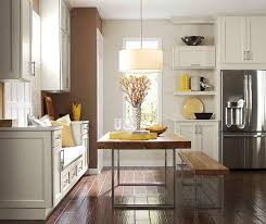 Kitchen Off White Cabinets Off White Cabinets In Casual Kitchen Diamond Cabinetry