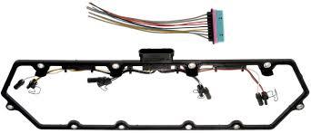 amazon com apdty 726312 valve cover gasket kit w glow plug wiring