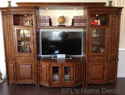 Signature Home Decor My American Signature Entertainment Center With Old Books World