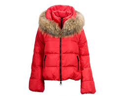 moncler jackets new women u0027s down jackets fur black moncler
