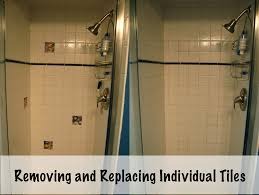 replacing individual tiles diy project aholic
