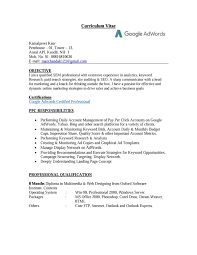 I Have No Resume Know The Essentials Of A Ppc Resume For Job Opportunity
