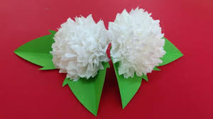 how to make tissue paper flowers making tissue paper flowers