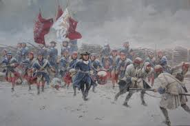 This Is The Swedish Version Charge Of The Swedish Infantry At The Battle Of Helsingborg 18th