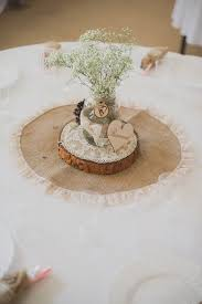 burlap wedding ideas rustic burlap wedding decorations centerpiece deer pearl flowers