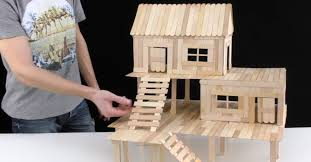 making a house making a mini popsicle house for a small pet do it yourself