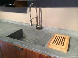 Countertop Kitchen Sink Soapstone Sinks Standard And Custom By M Teixeira Soapstone