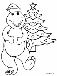 barney christmas coloring coloring coloring