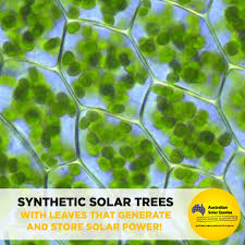 synthetic solar trees